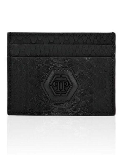 Philipp Plein Credit Cards Holder Luxury Black