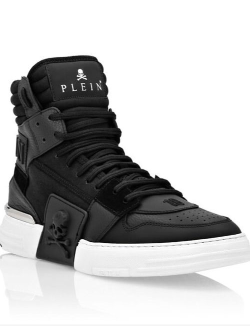 Philipp Plein PHANTOM KICK$ Hi-Top Black