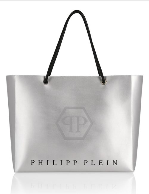 Philipp Plein shopper ORIGINAL zilver