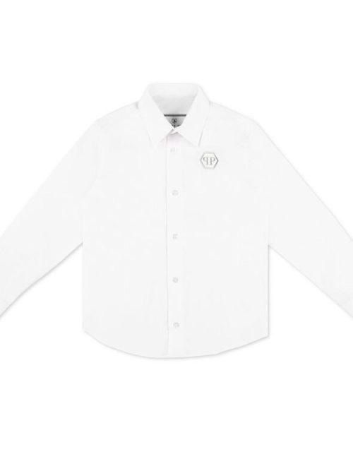 Philipp Plein Junior overhemd Hexagon