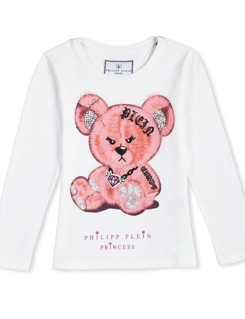 Philipp Plein Junior T-shirt FUNNY TEDS - 8 jaar