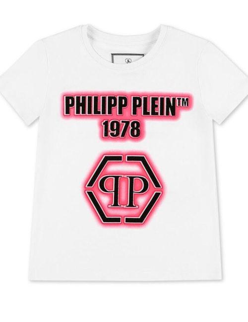 Philipp Plein Junior T-Shirt Hexagon