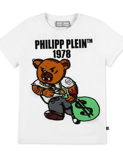 Philipp Plein Junior T-shirt Teddy Bear