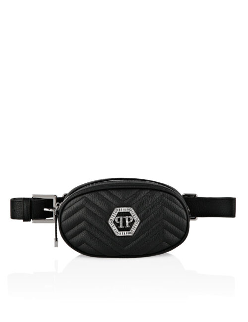 Philipp Plein Junior Fenny Pack Hexagon Black