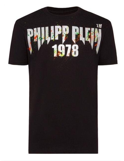 Philipp Plein T-Shirt PP Painted Black