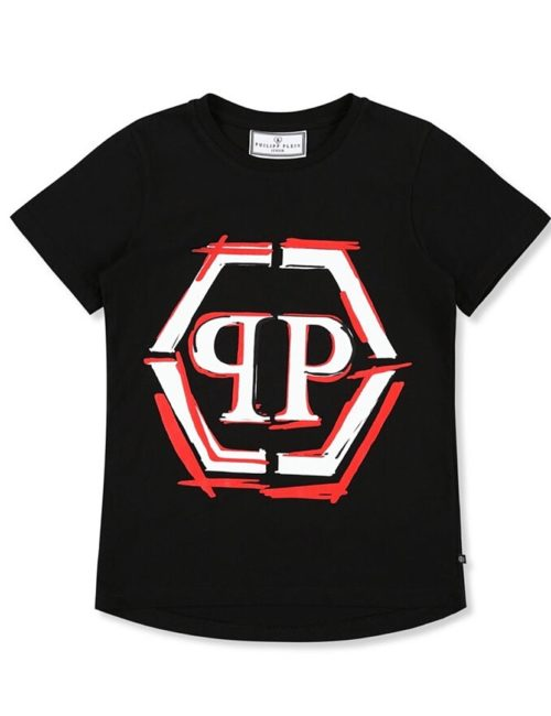 Philipp Plein Junior T-Shirt Gothic Plein