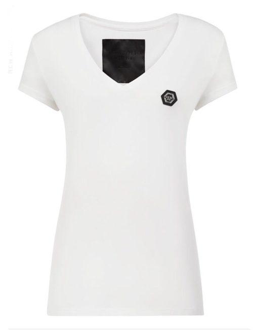Philipp Plein T-Shirt V-Neck SS White