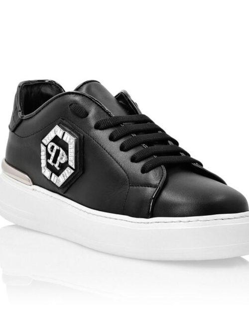Philipp Plein Lo-Top Sneakers Studs zwart