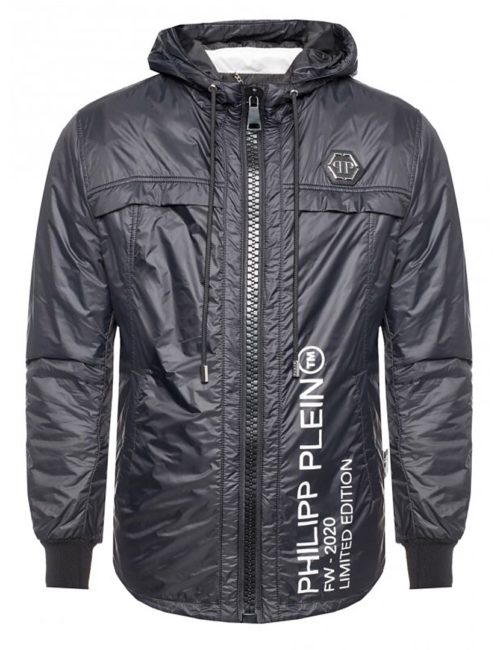 Philipp Plein NYLON JACKET PHILIPP PLEIN TM BLACK