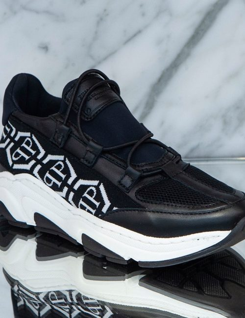 Philipp Plein Runner Hexagon Black