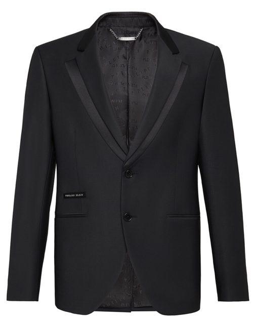 Philipp Plein Blazer Elegant Black