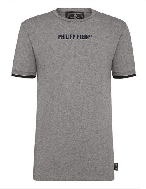 Philipp Plein T-Shirt PP Centered - Grijs