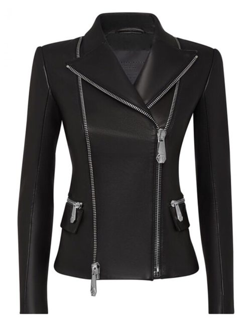 Philipp Plein Biker Statement leer