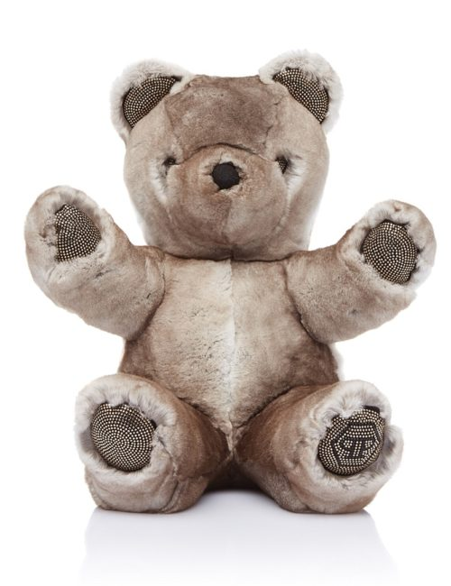 Philipp Plein Junior Teddybeer beige