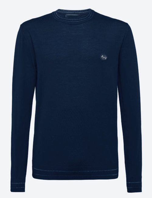 Philipp Plein Pullover Blauw