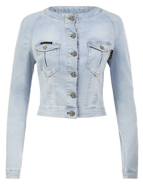Philipp Plein Denim Jacket Hot' n 'Cold