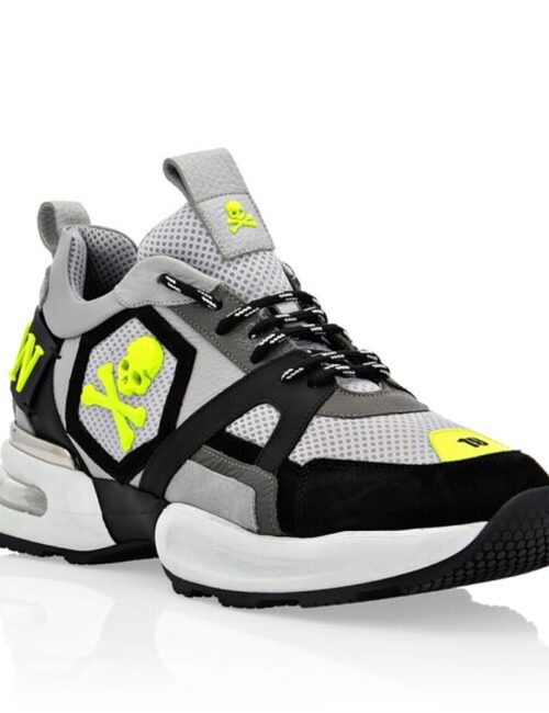 Philipp Plein Runner Skull Black/Yellow
