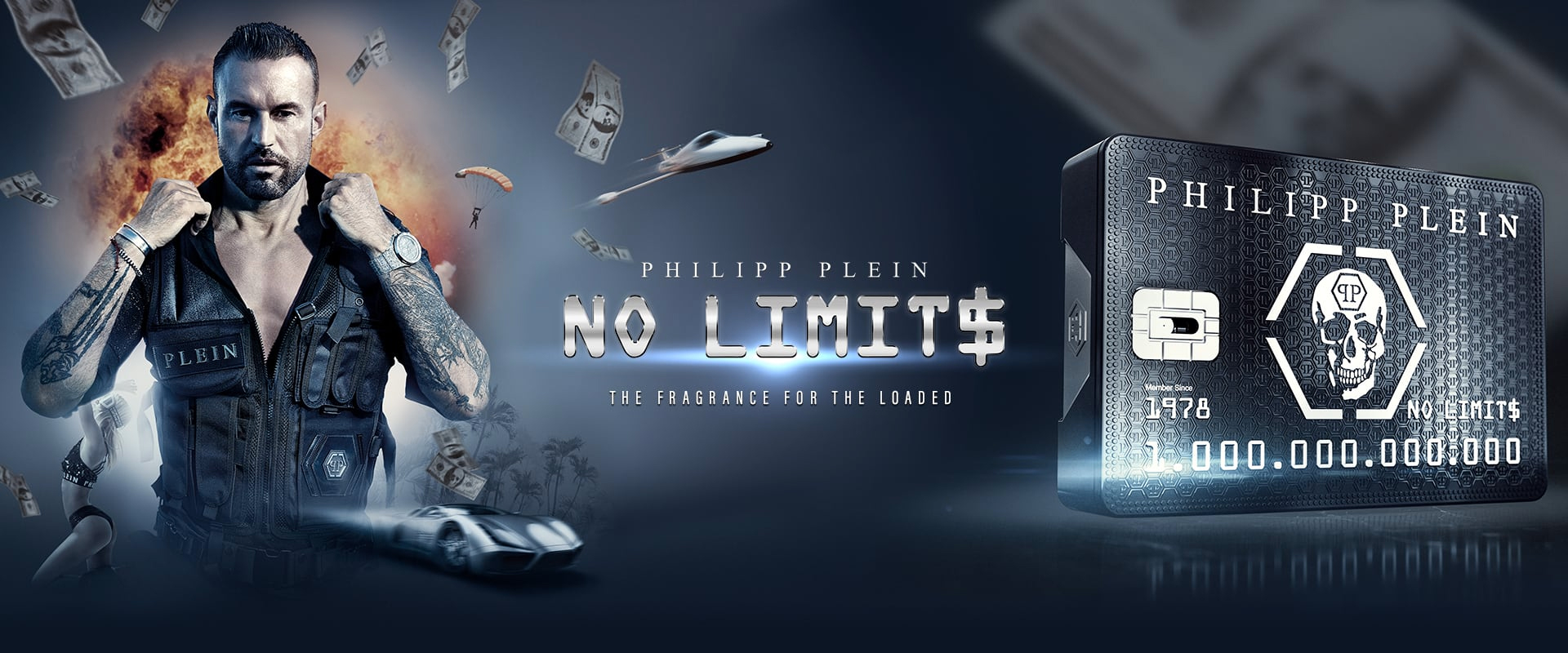 Philipp Plein parfum No limits