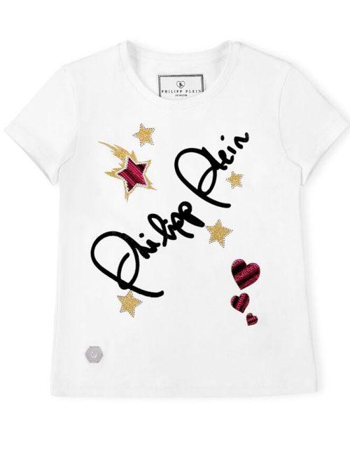 Philipp Plein Junior T-shirt SIGNATURE