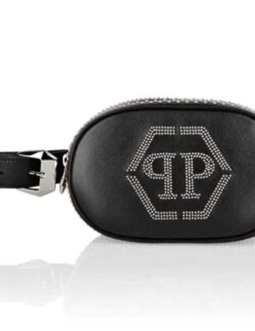 Philipp Plein Fenny Pack Crystal zwart
