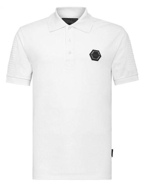 Philipp Plein Polo Shirt Statement White