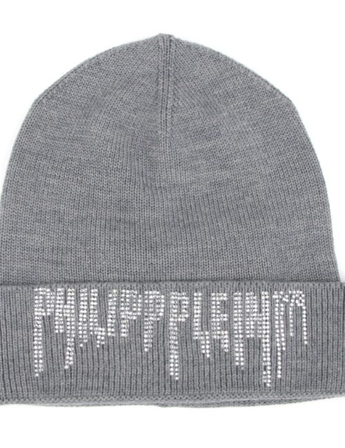 Philipp Plein Hat Rock PP Grey