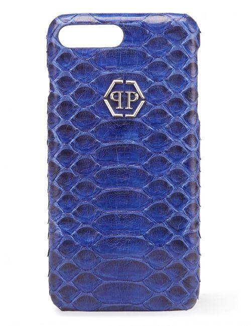 Philipp Plein COVER IPHONE 7 PLUS FELIDHOO DARK BLUE