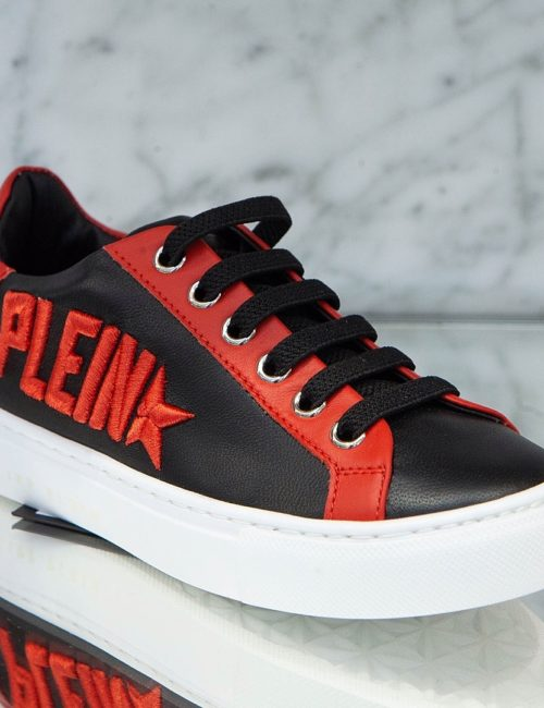 Philipp Plein Lo-Top Sneakers Plein Star Black/Red