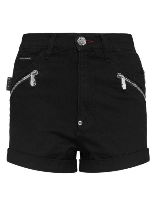 Philipp Plein Hot pants Zipped