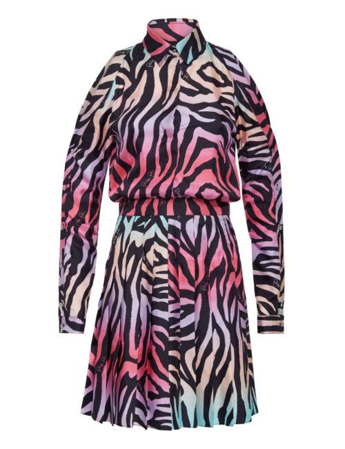 Philipp Plein Shirt Dress Jungle