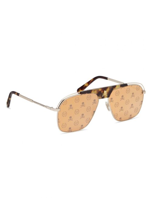 Philipp Plein Sunglasses Noah Monogram (101)