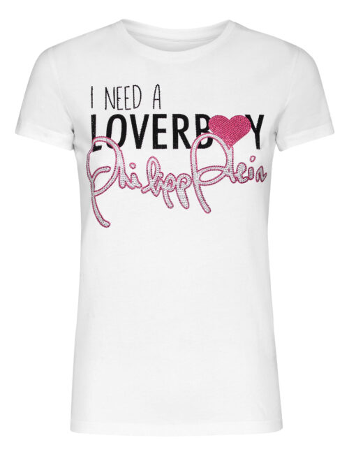 Philipp Plein T-shirt Loverboy Wit