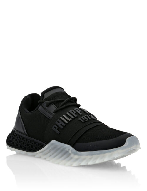 Philipp Plein Runner THE SHARK Zwart