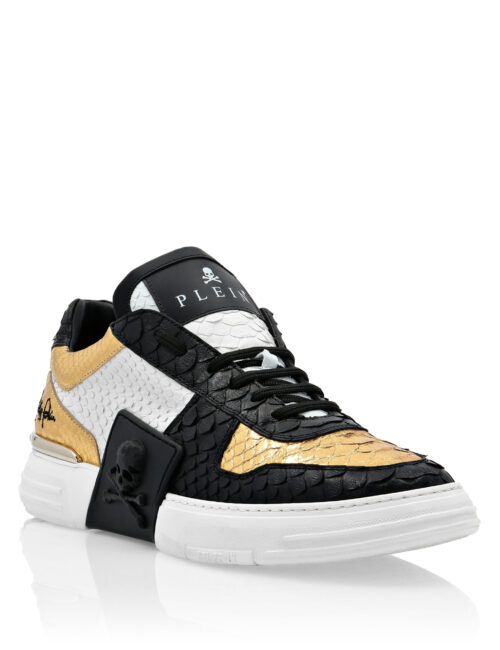 Philipp Plein Phantom Kicks LT Sneakers Gold
