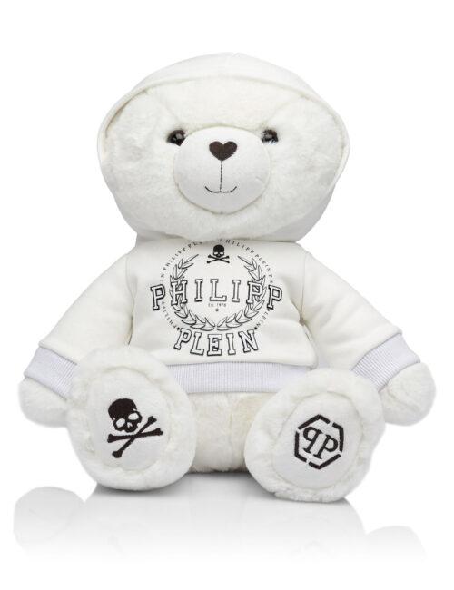 Philipp Plein teddybeer Wit
