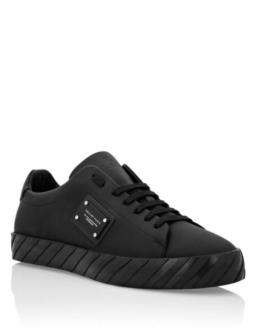 Philipp Plein Sneakers Badge - Zwart