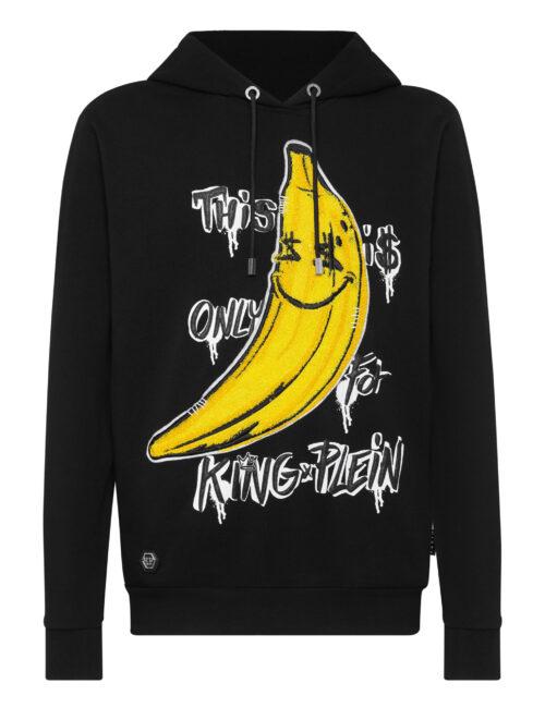Philipp Plein Hoodie Sweatshirt King Plein Banana