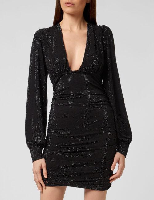 Philipp Plein Short Dress Daphne Crystal