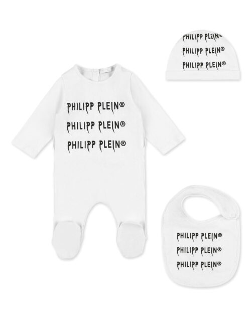 Philipp Plein Body/Bonett/Bib Rock PP Wit