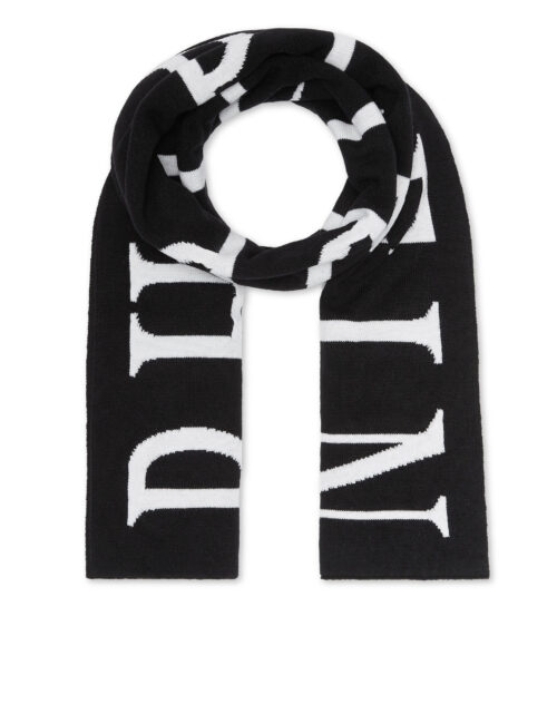 Philipp Plein Long Scarf Philipp Plein TM Zwart-Wit