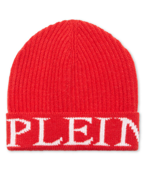 Philipp Plein Bonnet Philipp Plein TM Rood-Wit