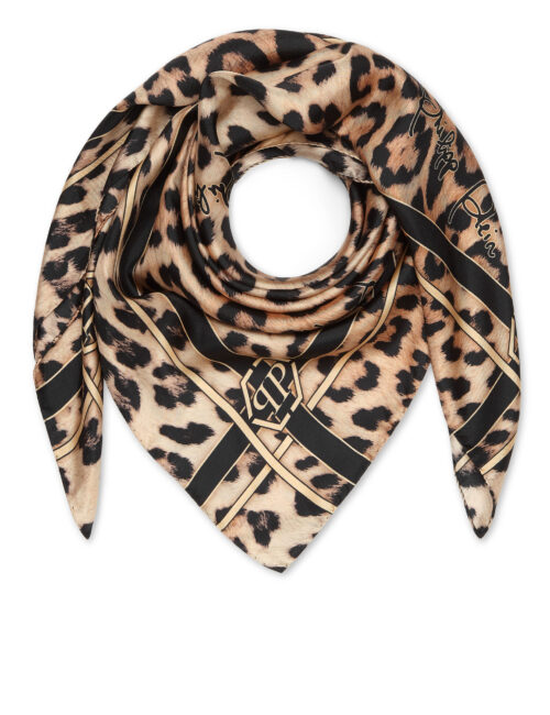 Philipp Plein Foulard Leopard Hexagon - Signature
