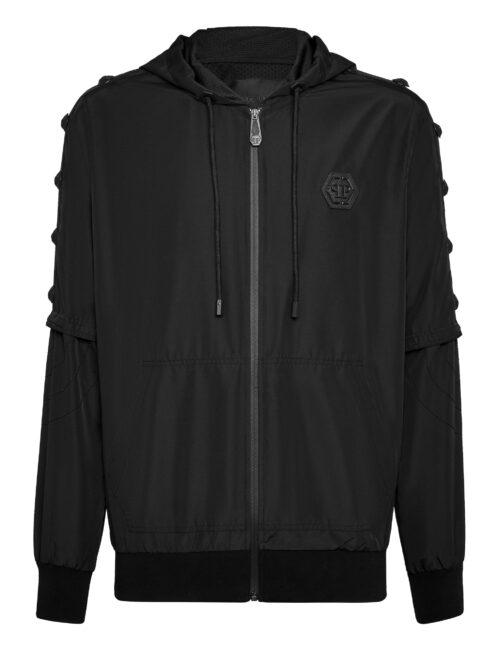 Philipp Plein Nylon Jacket  Imperial Plein Black
