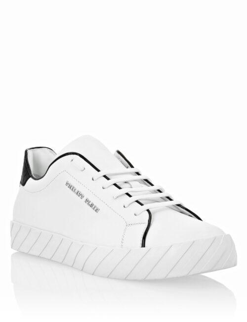 Philipp Plein Lo-Top Sneakers Original White Pipe