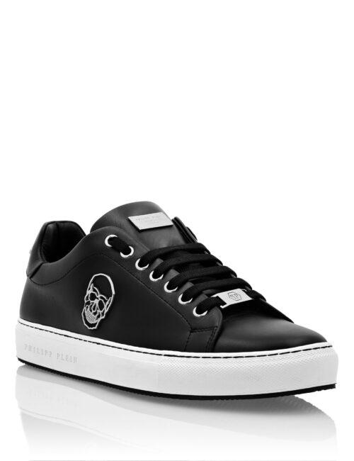 Philipp Plein Lo-Top Sneakers Skull Zwart