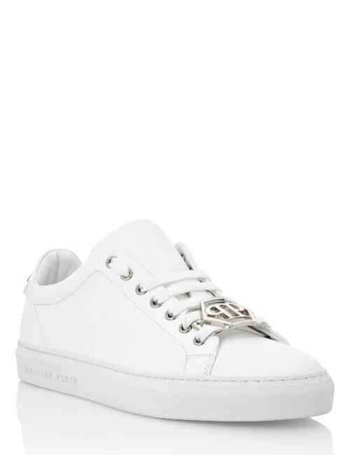 Philipp Plein Lo-Top Sneakers Hexagon Wit