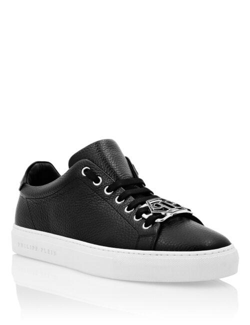 Philipp Plein Lo-Top Sneakers Hexagon Zwart