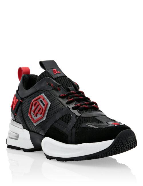 Philipp Plein Runner Hexagon Zwart/Rood