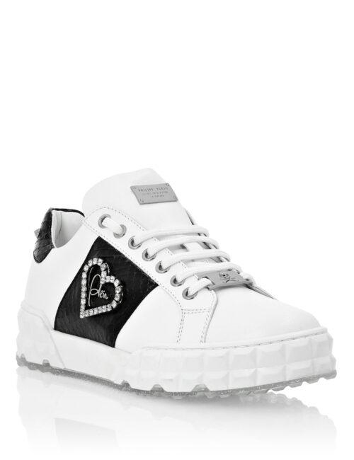 Philipp Plein Lo-Top Sneakers Elaphe And Love Plein