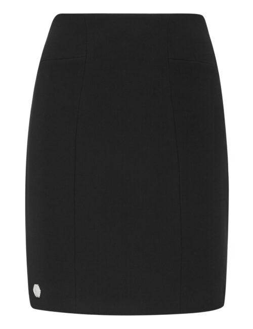 Philipp Plein Short Skirt Elegant Zwart